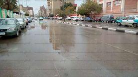 أمطار متوسطة على أغلب قرى المنوفية