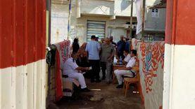 صور.. النساء يتوافدن على لجان انتخابات الشيوخ بكفر البطيخ