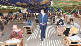 ضوابط وقائية صارمة في أول أيام امتحانات جامعة سوهاج