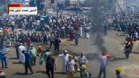 """بالصور.. مصر تودع فوضى الإخوان: """"كانت خراب وبقت عمار"""""""