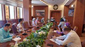 محافظ بورسعيد يتابع تطبيق منظومة حصر الأصول العقارية