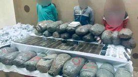 ضبط 3 تجار مخدرات بالغربية بحوزتهم «حشيش وبانجو»