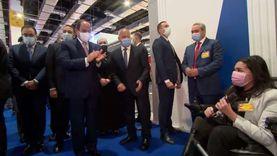 الباكية أمام السيسي بافتتاح معرض النقل الذكي: اتفاجئت بالرئيس بيصقفلي