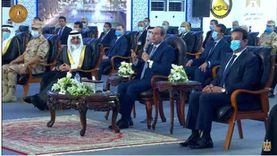 """يستعرض تنمية سيناء.. السيسي يشهد فيلم """"طريق أمل"""""""