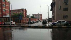 رياح وأمطار غزيرة وتوقف حركة الصيد في بورسعيد