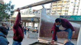 إزالة الإشغالات في 3 أحياء بالإسكندرية