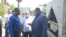 نائب وزير الزراعة يتفقد مراكز تجميع الألبان بالغربية