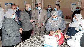 بنسية 51%.. تطعيم 288 ألفا ضد شلل الأطفال في بني سويف