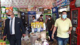 ضبط 121 مخالفة تموينية ببني مزار في المنيا