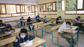 %97 نسبة حضور طلاب الصف الأول الإعدادي في امتحان الفصل الدراسي الأول