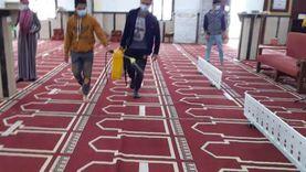 الشباب والرياضة تشارك أوقاف جنوب سيناء في حملة لتطهير المساجد