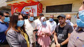 محافظ دمياط تتابع أعمال إصلاح كسر خط المياه بشارع مصطفى مشرفة