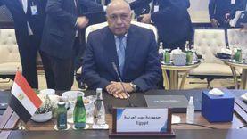 كلمة سامح شكري في مؤتمر دعم استقرار ليبيا: مصر ستظل داعمة للشعب الشقيق