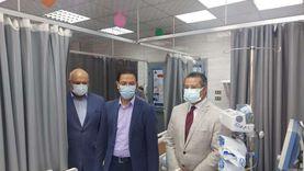 «الجيزاوي» يتفقد مستشفى بنها الجامعي في ثاني أيام العيد