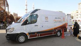 """""""الحي المتنقل"""".. سيارة لتقديم الخدمات الحكومية للمواطنين غرب سوهاج"""