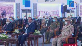 عاجل.. الرئيس السيسي يفتتح مجمع التكسير الهيدروجيني بمسطرد