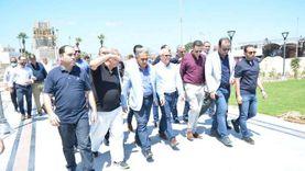 وفد «محلية» النواب يتفقد مشروع تطوير وإنشاء «ساحة مصر» ببورسعيد