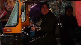 هدى أرملة تعمل على سائقة توكتوك لتعول أطفالها: عايشين على بلاط