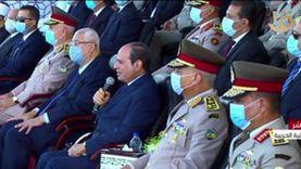 عاجل.. السيسي يوجه بمهام جديدة لضباط الجيش والشرطة: توعية المجندين