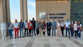 صور.. وفد 7 منظمات دولية يزور جامعة الجلالة الأهلية