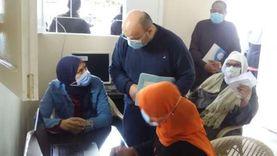 «صحة المنوفية» تبدأ تطعيم كبار السن بلقاح كورونا: نسعى لتقليل الإصابة