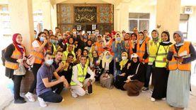 """مسيرة بجامعة الإسكندرية للتوعية بمبادرة """"إسكندرية بلا إدمان"""""""