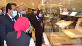وزير التعليم العالييفتتح متحف مقتنيات جامعة الإسكندرية