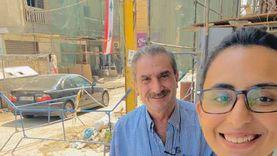 """صدفة على حطام مرفأ بيروت أعادت """"جورج"""" لسنوات الدراسة بالإسكندرية"""