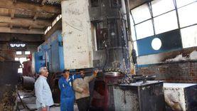محافظ أسوان يتابع جهود إحتواء تداعيات حريق محطة ري «بلانة» الرئيسية