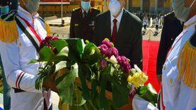جنوب سيناء تحتفل بعيد الشرطة بوضع أكليل زهور على نصب الشهداء