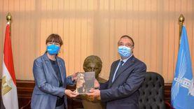 محافظ الإسكندرية يستقبل ممثل الأمم المتحدة بالقاهرة