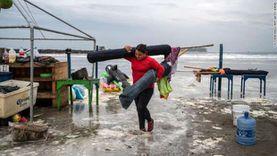 تحذيرات من سيول بعد اقتراب إعصار «ريك» من سواحل المكسيك