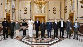"""""""وزير الإنتاج الحربي"""" يستقبل""""السفير البريطاني"""" ويبحثا سبل تعزيز التعاون المشترك"""