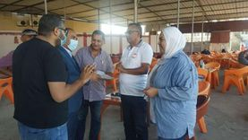 وكيل وزارة الصحة ببورسعيد يتفقد مركز شباب الاستاد لتجهيزه كمركز لقاحات
