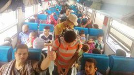 السكة الحديد تخاطب الشرطة لتفعيل غرامة مخالفي ارتداء الكمامات الطبية
