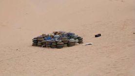 نزع 1500 لغم في اليمن خلال 7 أيام