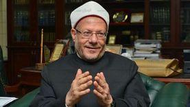 المفتى: مصر لن تسقط أبداً فهى فى رعاية العناية الإلهية