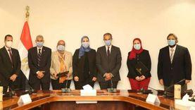 طلعت والقباج يشهدان توقيع اتفاقية للتطوير مؤسسات الرعاية الاجتماعية ودور الأيتام