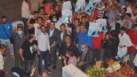 """سلاسل بشرية ومظاهرة شبابية في جولة """"حسين"""" و""""عمار"""" ببورسعيد"""