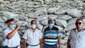 الزراعة ضبط 22 طن اعلاف غير مرخصة بمحافظة الشرقية