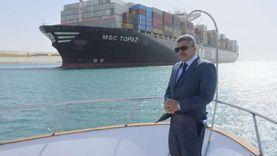 رئيس قناة السويس: نبني أسطولا يضم 112 سفينة صيد للشباب