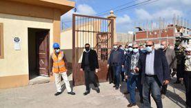 وفد من «الإسكان» يتفقد مشروعات مياه الشرب بجنوب بورسعيد