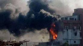 عاجل.. حريق هائل يدمر مصنع حلويات بالدقهلية.. و10 سيارات لإخماد النيران