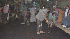 رئيس مدينة إسنا يعلن رصف الشوارع بعد انتهاء توصيلات الغاز والصرف الصحي