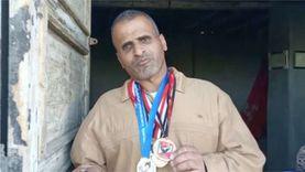 بطل مصر للمعاقين يعرض ميداليته للبيع: عايز أأكل عيالي
