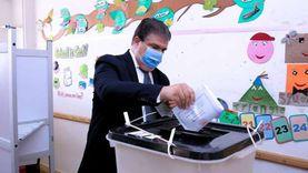"""رئيس """"الوطنية للإعلام"""" يدلي بصوته في انتخابات الشيوخ"""