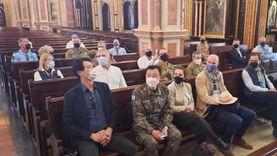 كاتدرائية السمائيين بشرم الشيخ تستقبل 26 سفيرا من مختلف الجنسيات