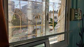 تضرر مستشفى بيت حانون بعد قصف إسرائيلي لمحيطه (صور)