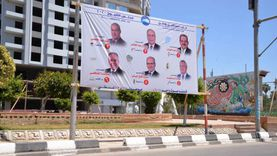 """القاهرة تزيل لافتات دعاية مرشحي """"الشيوخ"""""""