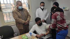 «صحة مطروح» تبدأ حقن اللقاح لأطباء خط المواجهة في عزل النجيلة
